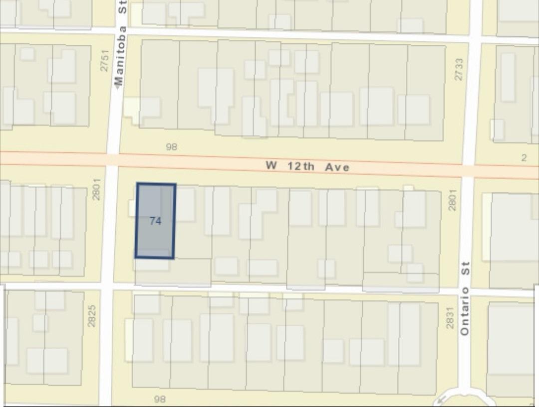 74 W 12TH AVENUE - MLS® # R2460315