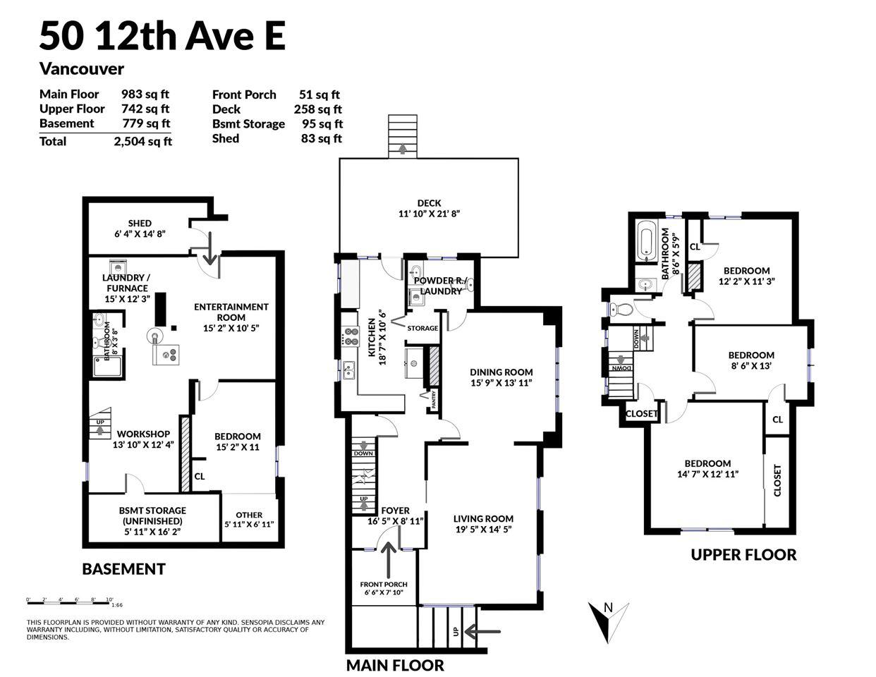 50 E 12TH AVENUE - MLS® # R2465317
