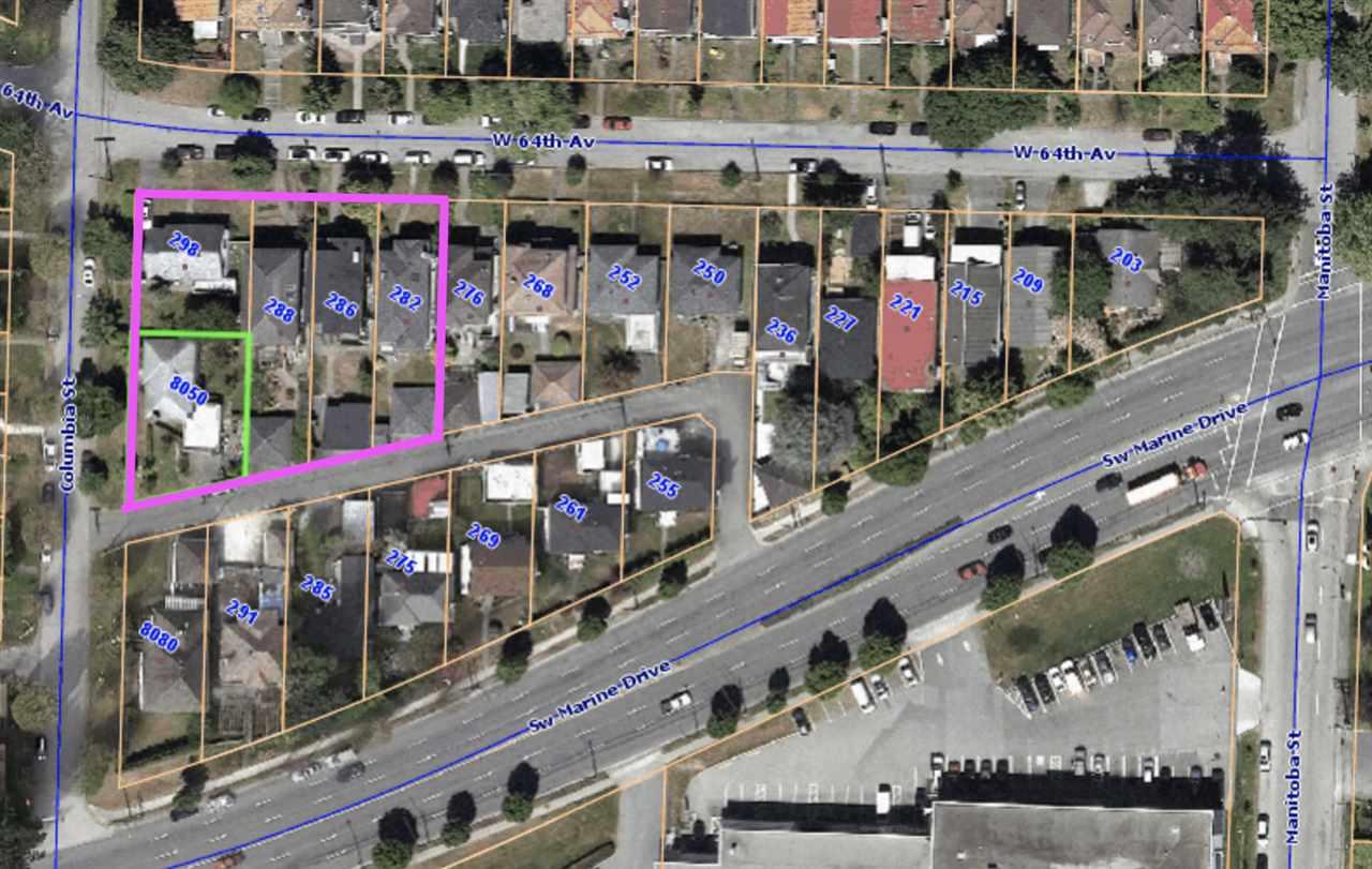 8050 COLUMBIA STREET - MLS® # R2470905