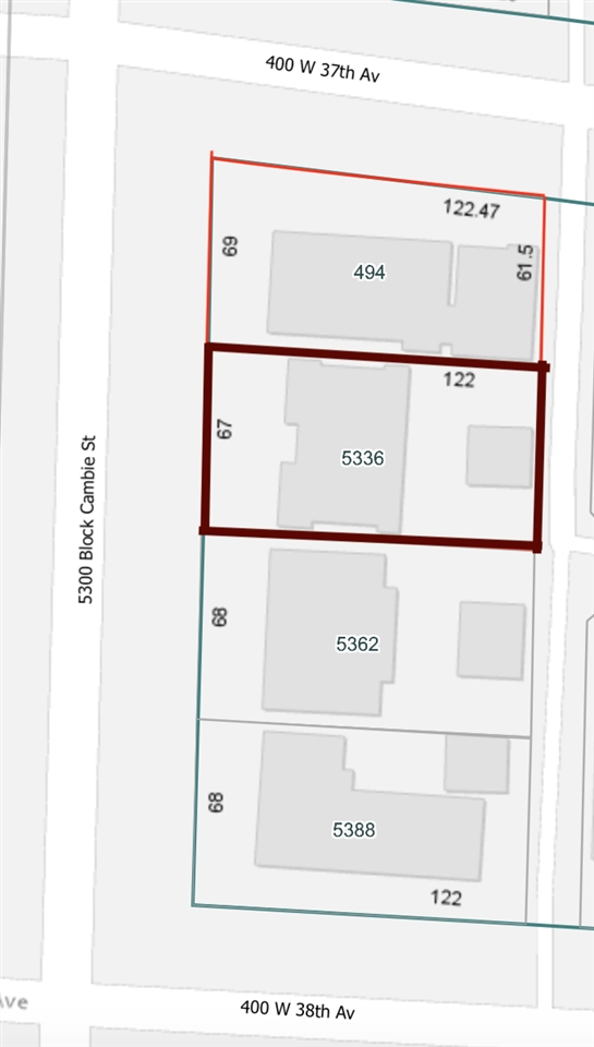 5336 CAMBIE STREET - MLS® # R2472959