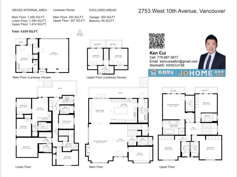 2753 W 10TH AVENUE - MLS® # R2474397