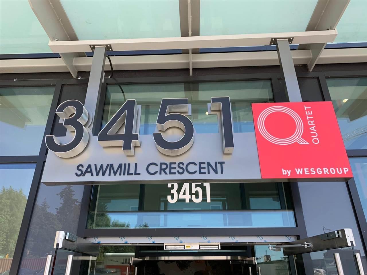 904 3451 SAWMILL CRESCENT - MLS® # R2479835