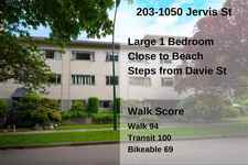 203 1050 JERVIS STREET - MLS® # R2482950
