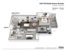 411 7131 STRIDE AVENUE - MLS® # R2502934