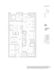 905 1550 ALBERNI STREET - MLS® # R2503976