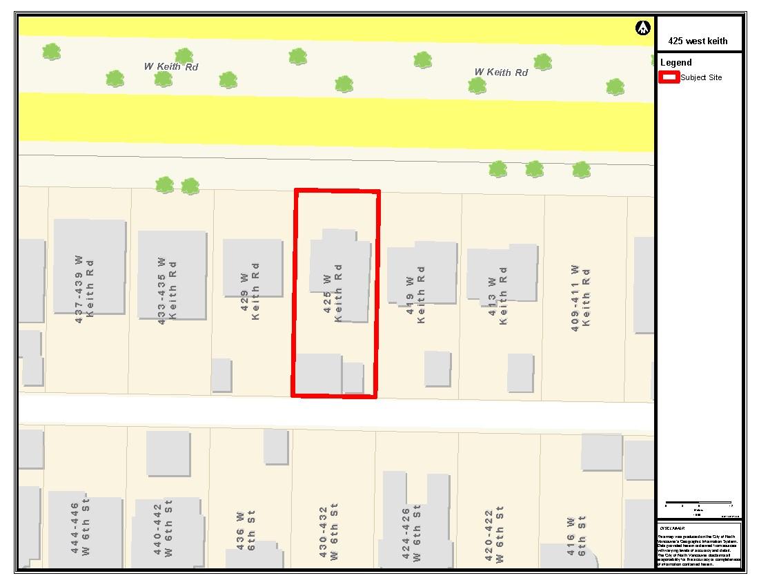 425 W KEITH ROAD - MLS® # R2517732