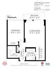 1008 1850 COMOX STREET - MLS® # R2528514