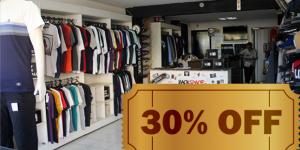 CUPOM: 30% de desconto em qualquer item na Backspace em Holambra