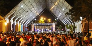 Réveillon de Holambra atrai mais de 4 mil pessoas