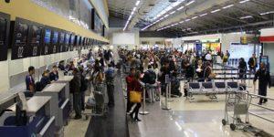 Viracopos registra alta no número de passageiros
