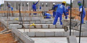 Construção Civil tem saldo negativo de 405 vagas de trabalho em junho