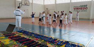 Projeto Karatê Para Todos atende 800 crianças nas escolas municipais de Vinhedo