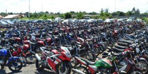 Detran.SP leiloa 128 motocicletas em Campinas