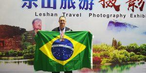 Atleta de Americana conquista duas medalhas no Mundial de Kung-Fu na China