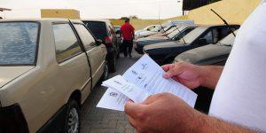 Detran leiloa 1.787 veículos na região de Campinas