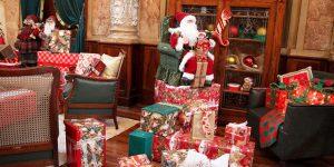 Palácio do Papai Noel abre suas portas ao público no dia 7 de dezembro
