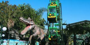 T-Rex Park amplia calendário durante férias escolares