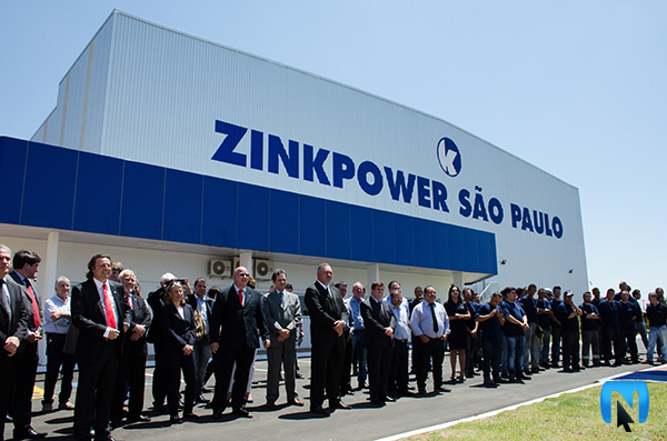 ZinkPower inaugura fábrica em Artur Nogueira