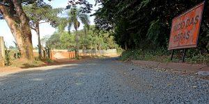Obras da Estrada São Bento, em Artur Nogueira, estão paralisadas e sem previsão de término