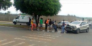 Motoristas sofrem acidente de trânsito em Artur Nogueira