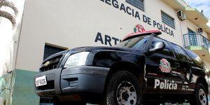 Polícia Civil de Artur Nogueira efetua prisão de acusado por tráfico de drogas