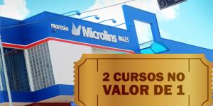 ENCERRADO: 2 cursos pelo valor de 1+ isenção na taxa de matrícula em Artur Nogueira