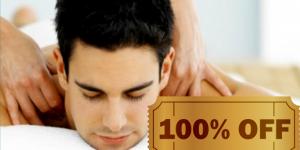 ENCERRADO: Mostre o cupom dourado e ganhe uma sessão de massagem grátis para seu pai