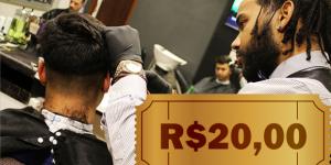CUPOM: Corte seu cabelo na Pordoti's por apenas R$ 20