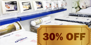 ENCERRADO: 30% de desconto em todos os produtos da Colchões Ortobom