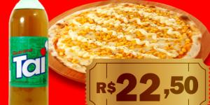 ENCERRADO: Pizza de milho verde + 1 refrigerante de 2L por apenas R$ 22,50 em Artur Nogueira