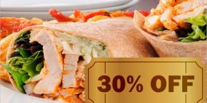 CUPOM: burrito de frango por R$ 12,50 em Artur Nogueira