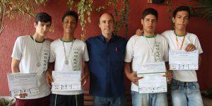 Estudantes nogueirenses conquistam medalhas em Olimpíadas de Matemática e Astronomia