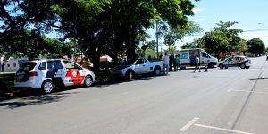 Motociclista fica ferido após acidente em Artur Nogueira