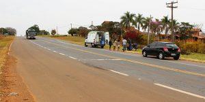 Pneu fura e motociclistas sofrem queda em rodovia de Artur Nogueira