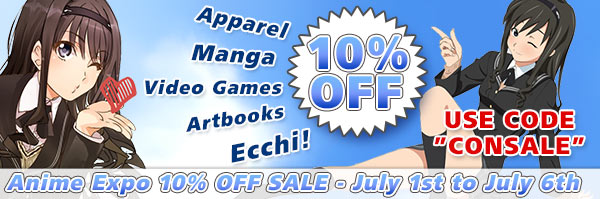 J-LIST SALE 10% off during Anime Expo!