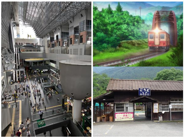 "Anime ""holy land"" locations, and why foreigners hate Kyoto Station."