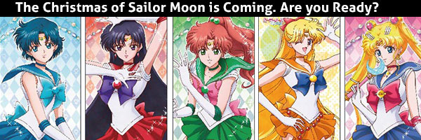 The Christmas of Sailor Moon is coming!