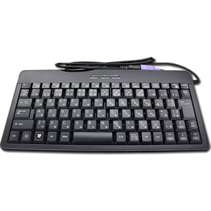 Japanese  *Small* USB Keyboard -- Black ~ Elecom