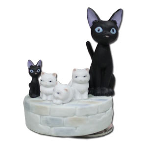 Studio Ghibli Music Box -- Jiji Family