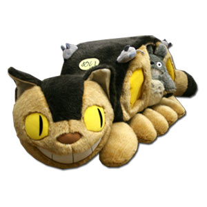 *Giant* DX Neko Bus Plush Doll w/ Totoro
