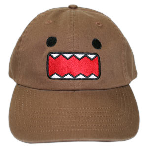 Domo-kun Face - Brown (Japanese Cap)