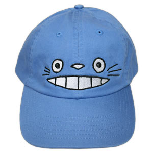Cheshire Totoro Face - Blue (Japanese Cap)