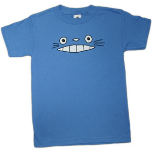 Cheshire Totoro Face - Blue (Kids)