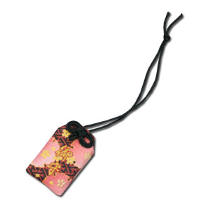 Mini Pink x Dark Green Lucky OMAMORI
