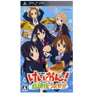 K-ON! After School Live!! PSP Anime Game