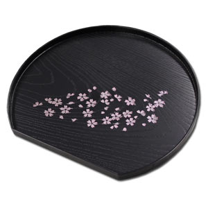 SAKURA Half Moon Shaped Multi Tray