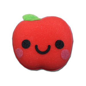 Kawaii Apple Kitchen Sponge