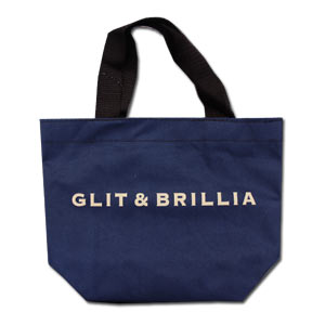 GLIT & BRILLIA Navy Bento Bag