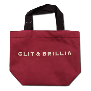 GLIT & BRILLIA Red Bento Bag