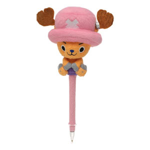 One Piece Chopper Plush Ballpoint Pen